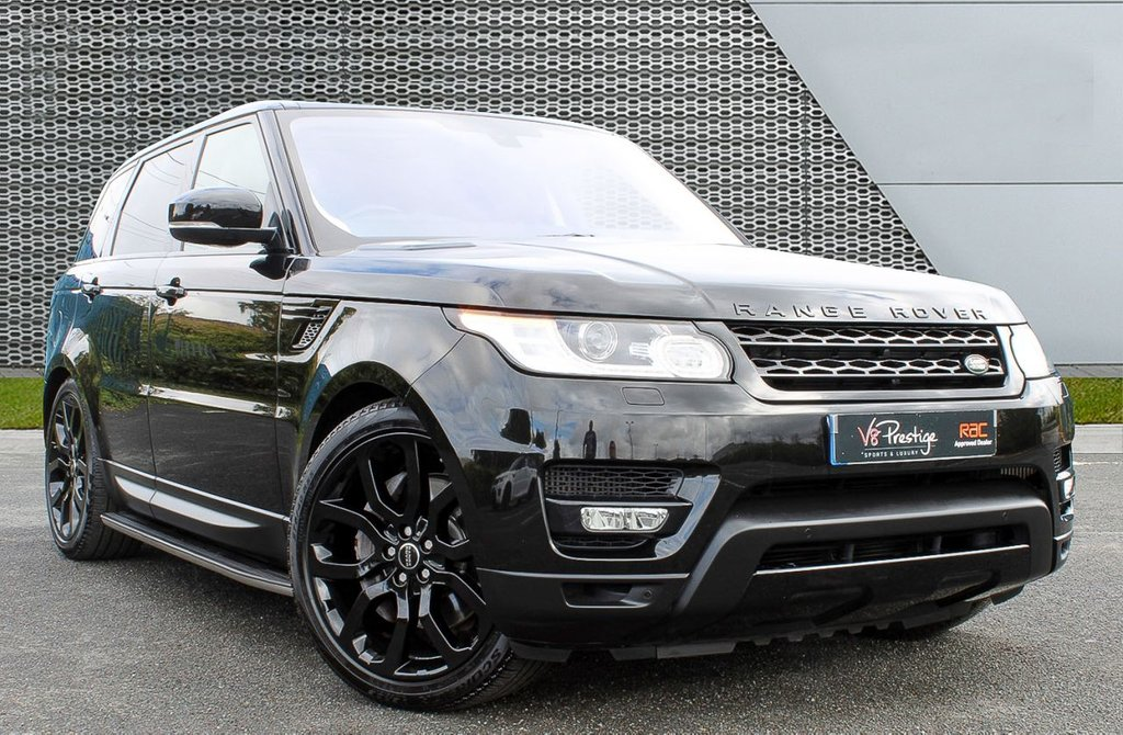 "USED 2014 64 LAND ROVER RANGE ROVER SPORT 3.0 SDV6 HSE DYNAMIC 5d 288 BHP PAN ROOF/22"" ALLOYS/BLACK PACK"