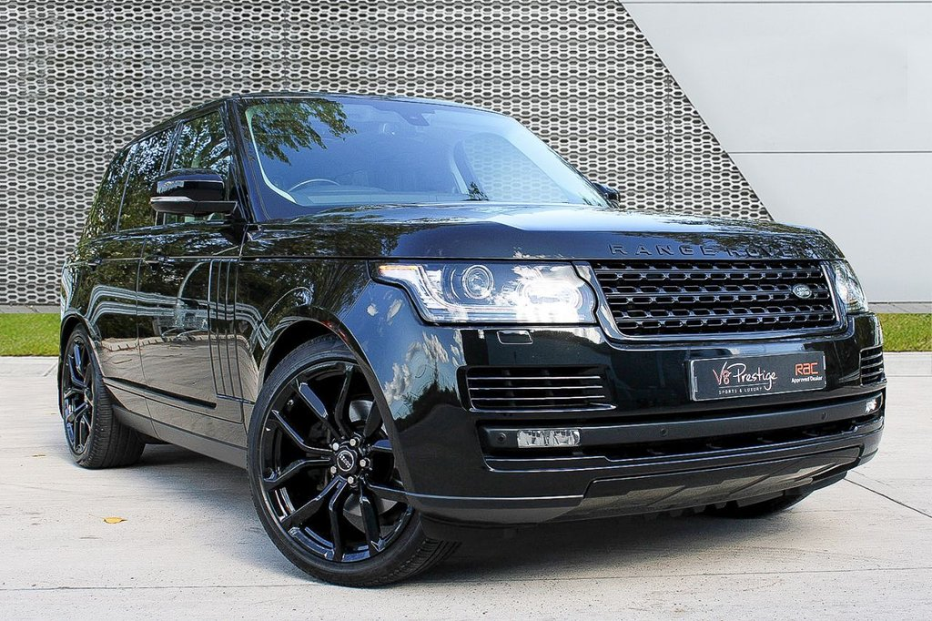 "USED 2016 65 LAND ROVER RANGE ROVER 3.0 TDV6 VOGUE 5d 255 BHP **STEALTH PACK/22"" SVR ALLOYS/TV**"