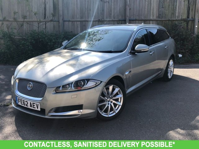 USED 2012 62 JAGUAR XF 2.2 D PREMIUM LUXURY SPORTBRAKE 5d 200 BHP AUTOMATIC LOW MILEAGE, MANY EXTRAS.FINANCE ME TODAY-UK DELIVERY POSSIBLE