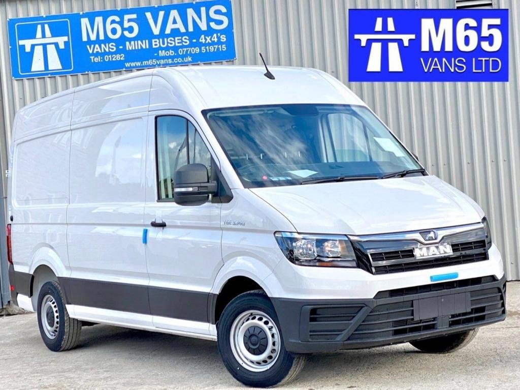 USED 2020 MAN TGE AUTOMATIC 140 MEDIUM WHEELBASE HIGH ROOF AIR CON - CRUISE - AUTO - 140