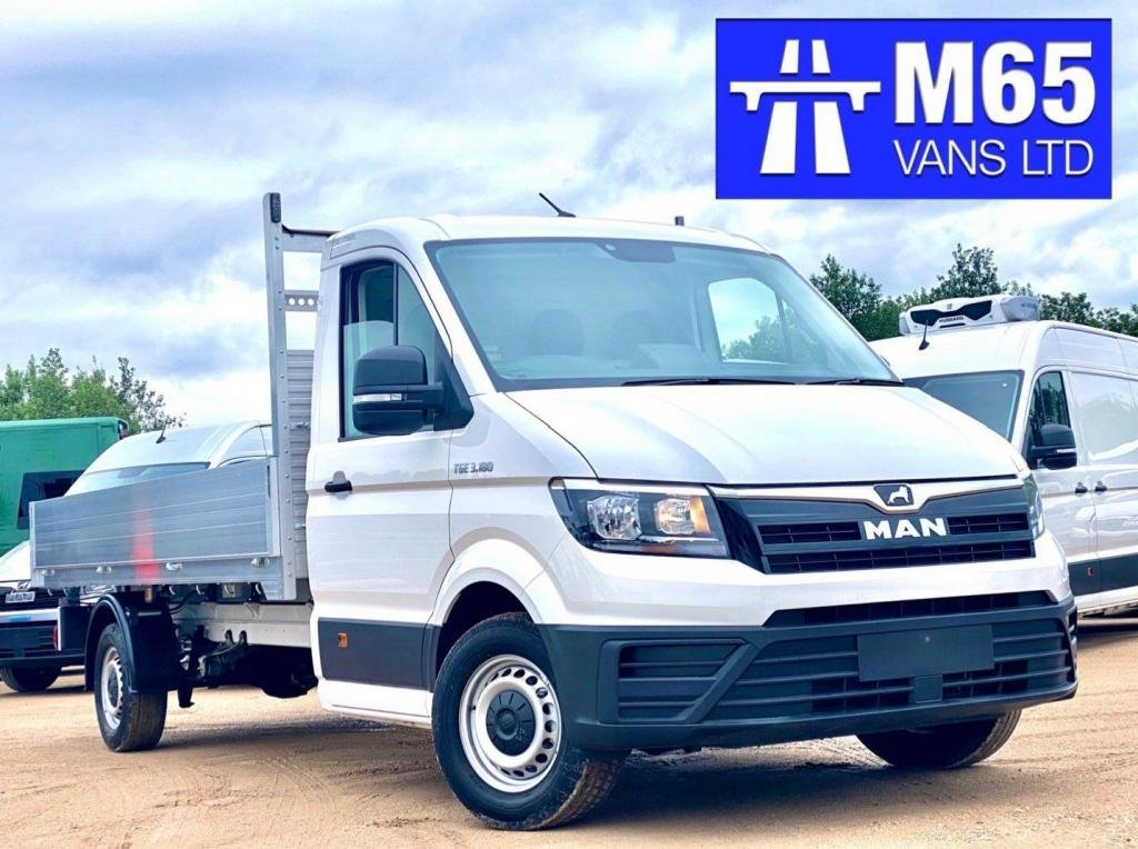 USED 2020 MAN TGE 180 REAR WHEEL DRIVE DROPSIDE 3.5T TOW 3.5T TOW CAPACITY - 180 ENGINE