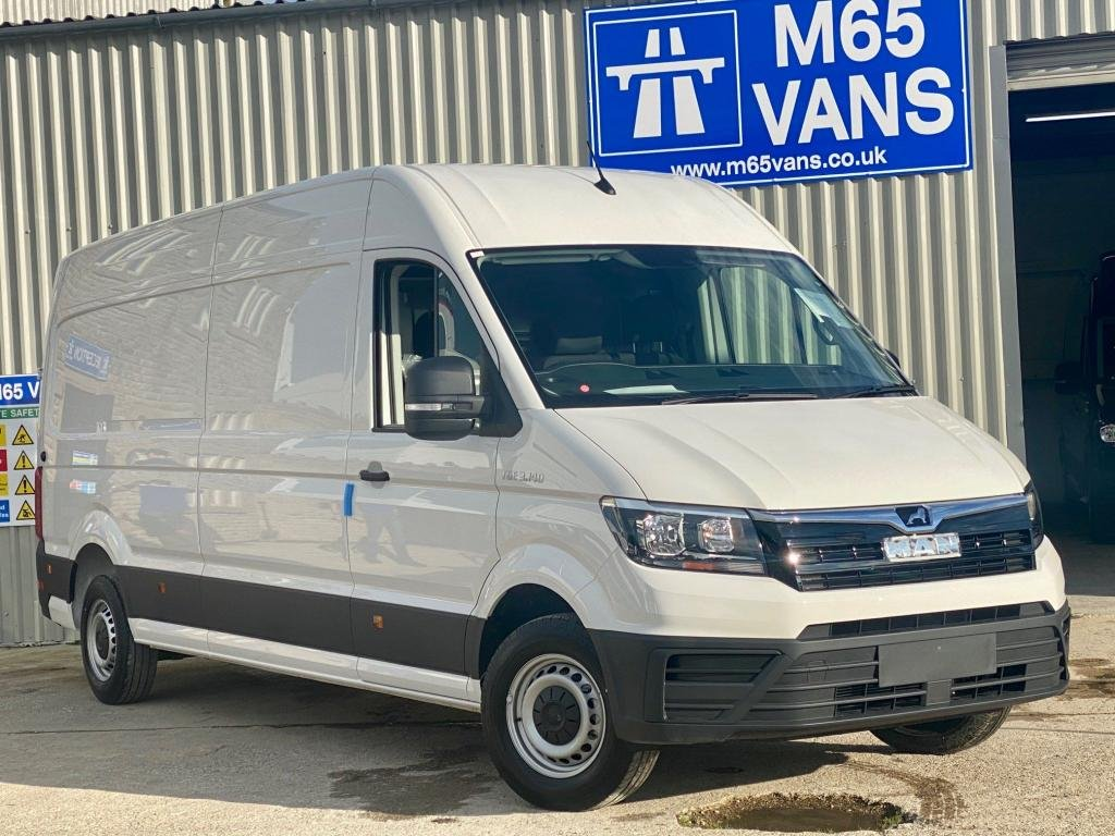 USED 2020 VOLKSWAGEN CRAFTER AUTOMATIC LONG WHEELBASE AIR CON - AUTO - CRUISE