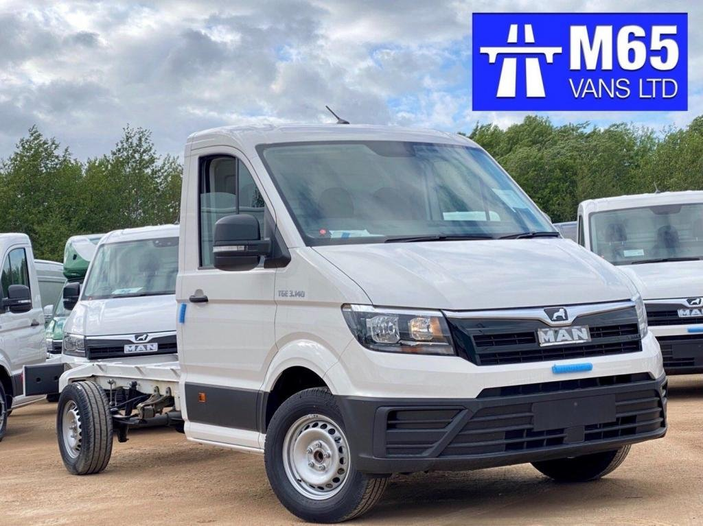 USED 2020 VOLKSWAGEN CRAFTER REAR WHEEL DRIVE - BRAND NEW AIR CON - CRUISE CONTROL - 140