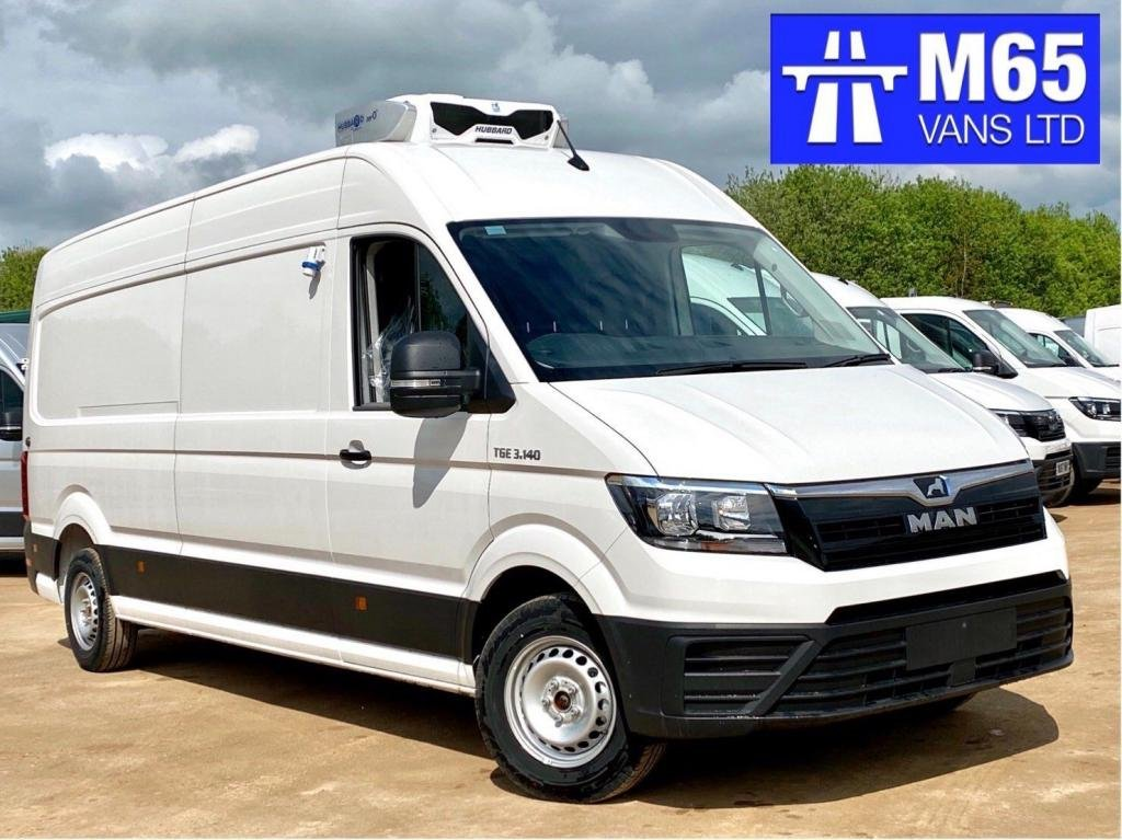 USED 2020 VOLKSWAGEN CRAFTER LONG WHEELBASE REFRIGERATED FRIDGE VAN BRAND NEW UNREGISTERED - 140PS