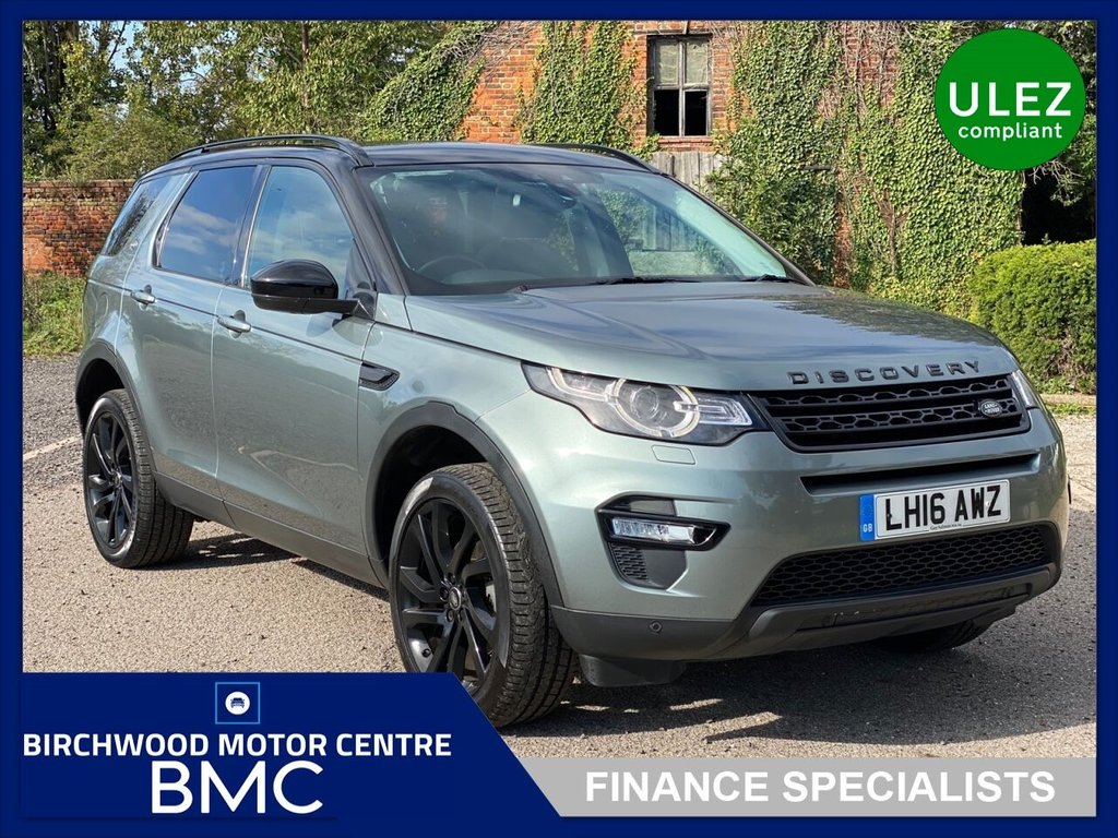 USED 2016 16 LAND ROVER DISCOVERY SPORT 2.0 TD4 HSE BLACK 5d 180 BHP. AUTOMATIC Ulez Compliant, JUST 28,000miles, FULL SERVICE HISTORY, 7 SEATER, Great Spec. Including REVERSE CAMERA, SAT NAV, CRUISE CONTROL