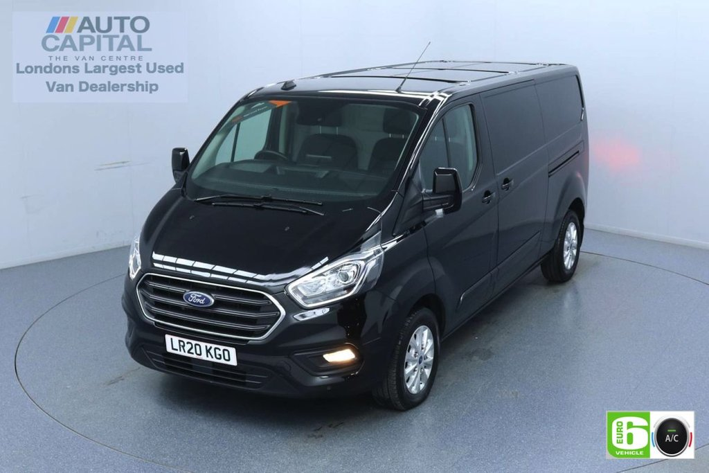 USED 2020 20 FORD TRANSIT CUSTOM 2.0 300 Limited EcoBlue 130 BHP L2 H1 Euro 6 Low Emission Eco Mode | Auto Start-Stop | Front and rear parking distance sensors