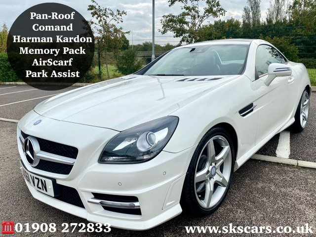 2011 61 MERCEDES-BENZ SLK 3.5 SLK350 BLUEEFFICIENCY AMG SPORT 2d 306 BHP