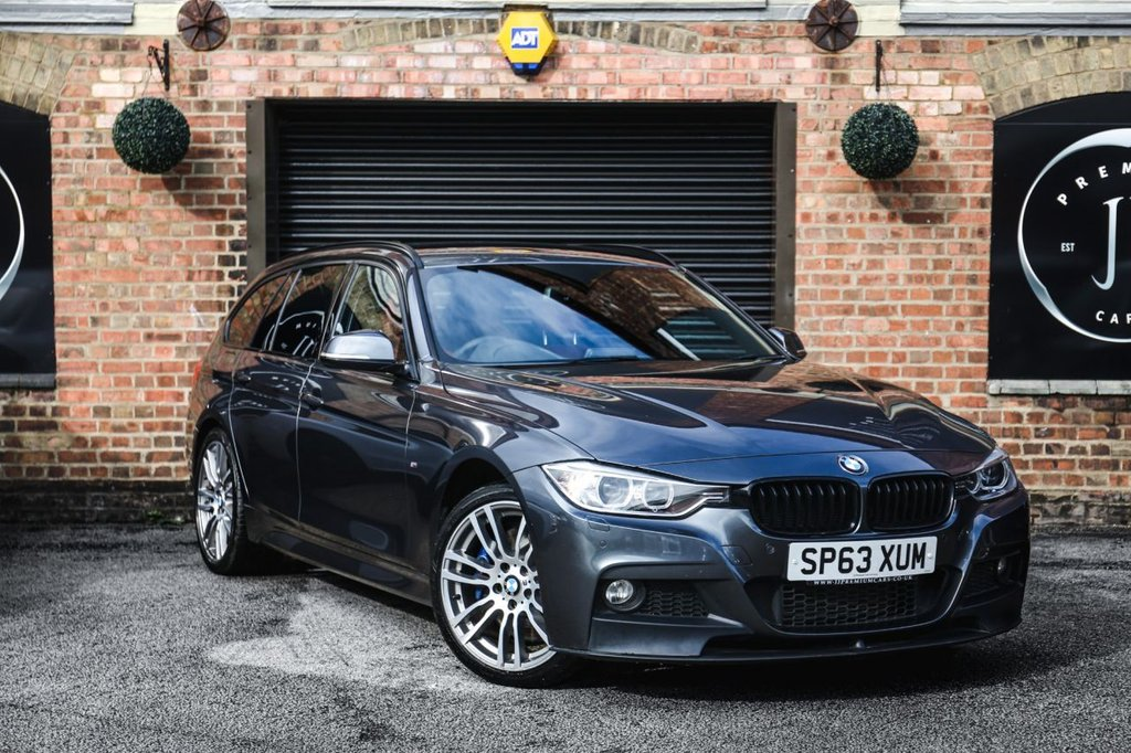 USED 2013 63 BMW 3 SERIES 3.0 330D XDRIVE M SPORT TOURING 5d AUTO 255 BHP