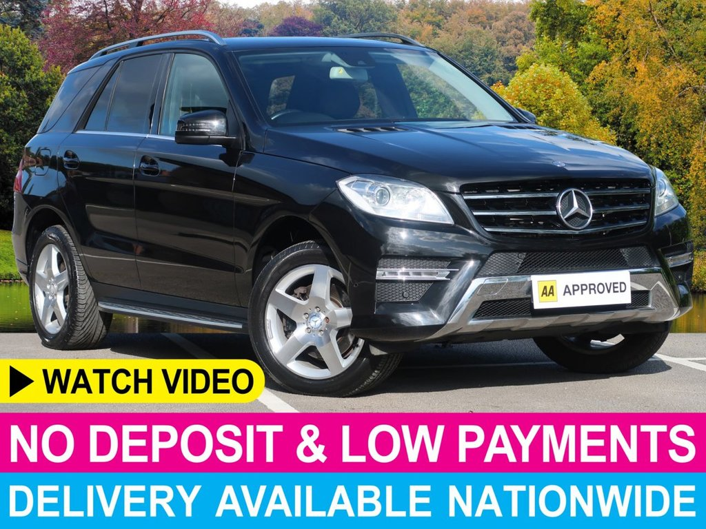 USED 2013 13 MERCEDES-BENZ M-CLASS ML350 CDI AMG Sport Auto 3.0 BlueTEC 5DR Sat Nav Leather Cruise Climate