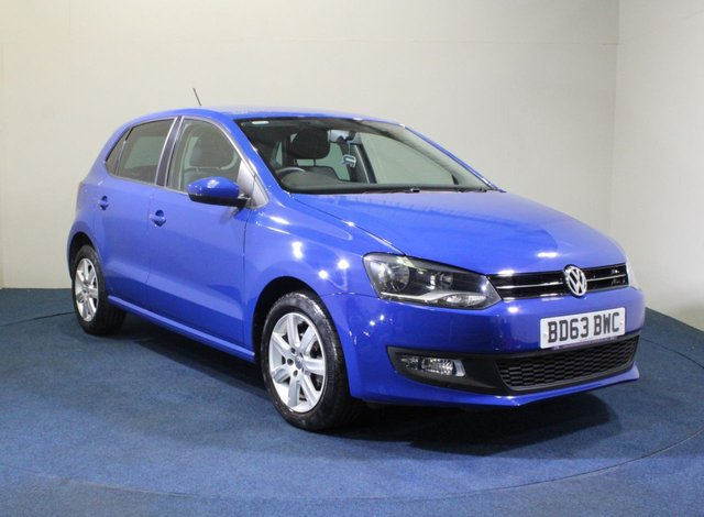 USED 2013 63 VOLKSWAGEN POLO 1.4 MATCH EDITION DSG 5d 83 BHP