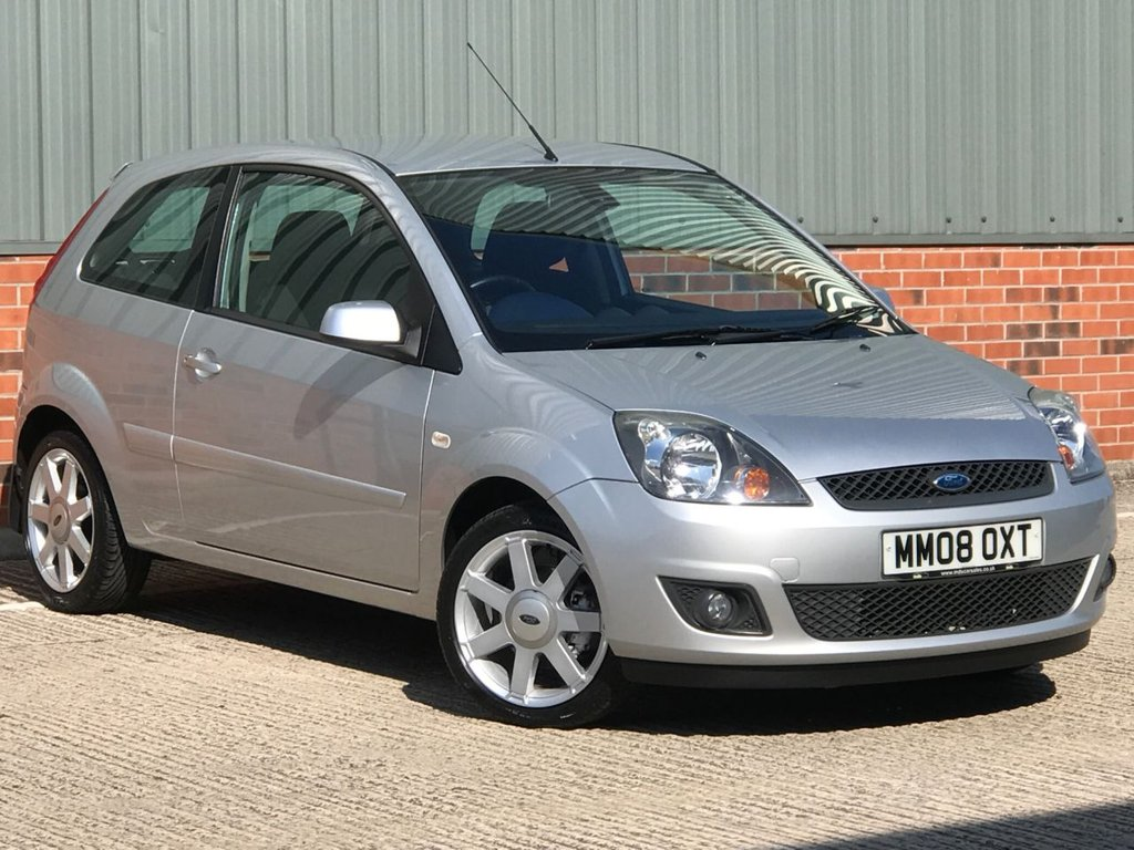 USED 2008 08 FORD FIESTA 1.4 ZETEC BLUE 3d 80 BHP EXCELLENT LOW MILEAGE EXAMPLE