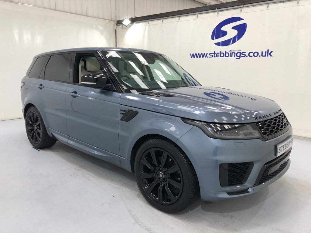 "USED 2018 18 LAND ROVER RANGE ROVER SPORT 3.0 SDV6 HSE DYNAMIC 5d 306 BHP PAN ROOF, SAT NAV, IVORY WITH BLACK CONTRAST LEATHER, POWER HEATED AND COOLING SEATS WITH MEMORY FUNCTION, COLOUR TOUCHSCREEN MEDIA, MERIDIAN SOUND SYSTEM, IN CONTROL APPS, WIFI HOTSPOT, DUAL ZONE CLIMATE CONTROL CRUISE CONTROL, MATRIX LED HEADLIGHTS, AUTO LIGHTS AND WIPERS, ALL TERRAIN PROGRESS CONTROL, LANE EPARTURE WARNING, ACTIVE ROLL CONTROL, SOFT CLOSE DOORS, 21"" ALLOYS"
