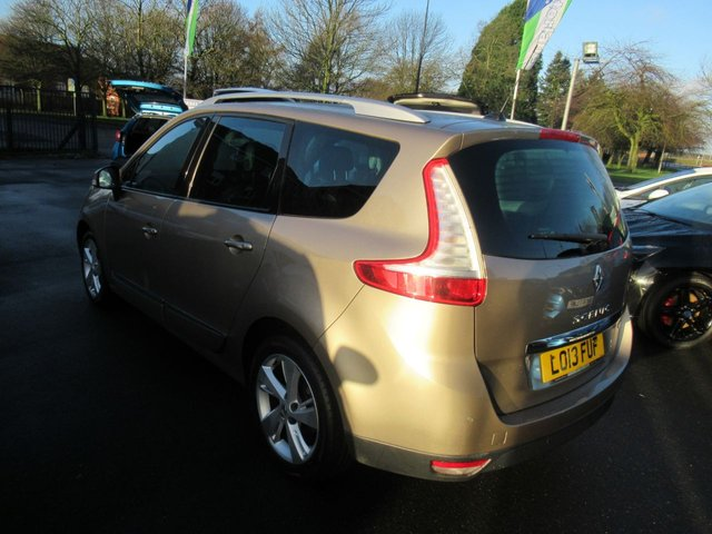USED 2013 13 RENAULT GRAND SCENIC 1.6 DYNAMIQUE TOMTOM DCI S/S 5d 130 BHP * JUST ARRIVED DIESEL 7 SEATER MPV *