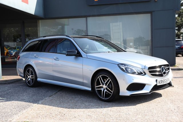 2015 65 MERCEDES-BENZ E-CLASS 2.1 E220 BLUETEC AMG NIGHT EDITION PREMIUM 5d 174 BHP