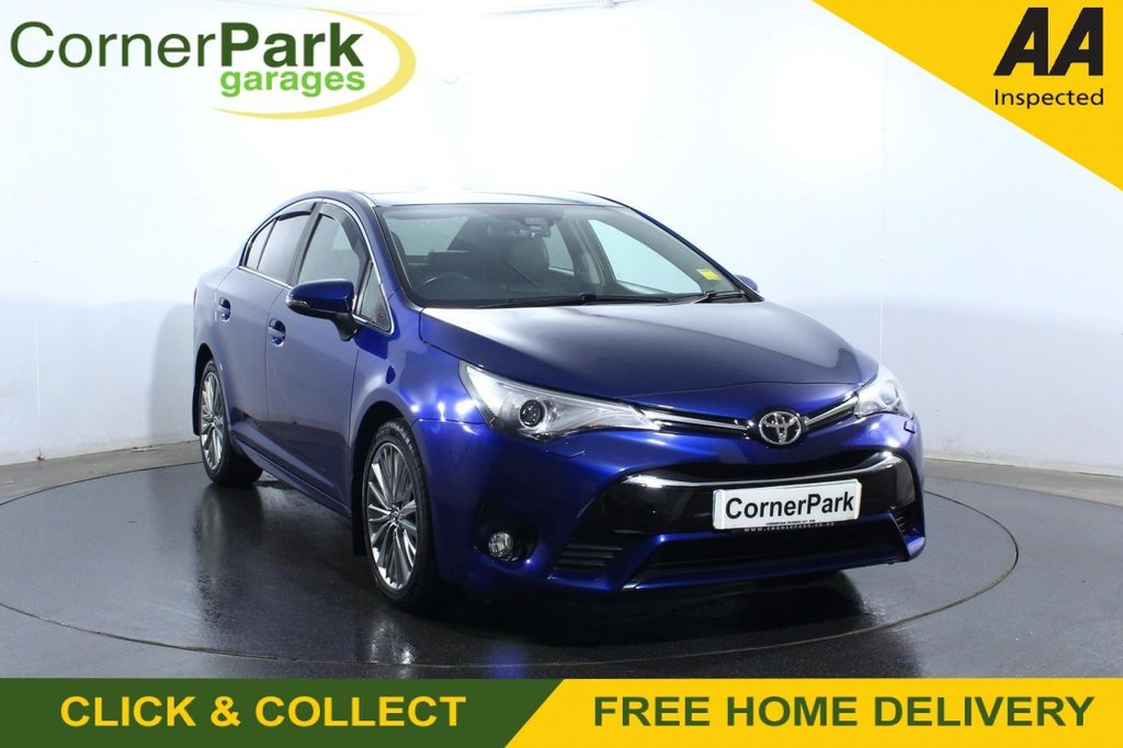 USED 2017 67 TOYOTA AVENSIS 2.0 D-4D EXCEL 4d 141 BHP