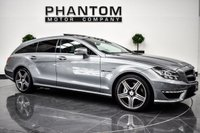USED 2013 k MERCEDES-BENZ CLS CLASS 5.5 CLS63 AMG 5d 557 BHP