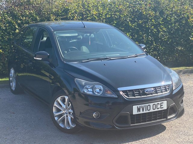 USED 2010 10 FORD FOCUS 1.6 ZETEC 5d 100 BHP RECENT SERVICE