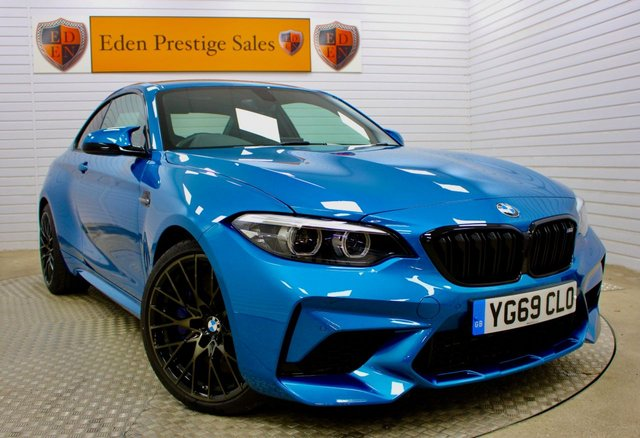 USED 2019 69 BMW M2 3.0 M2 COMPETITION 2d 405 BHP