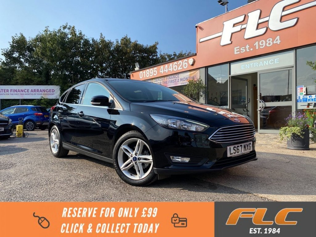 USED 2017 67 FORD FOCUS 1.0 ZETEC EDITION 5d 124 BHP