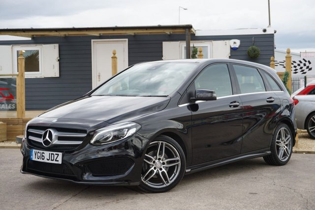 USED 2016 16 MERCEDES-BENZ B-CLASS 1.5 B 180 D AMG LINE PREMIUM PLUS 5d 107 BHP ARRIVING NOW GREAT LOW MILEAGE