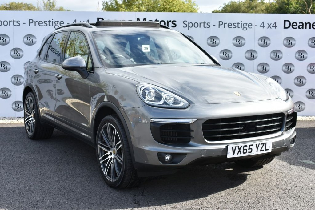 USED 2015 65 PORSCHE CAYENNE 3.0 D V6 TIPTRONIC S 5d 262 BHP PANROOF 21IN ALLOYS