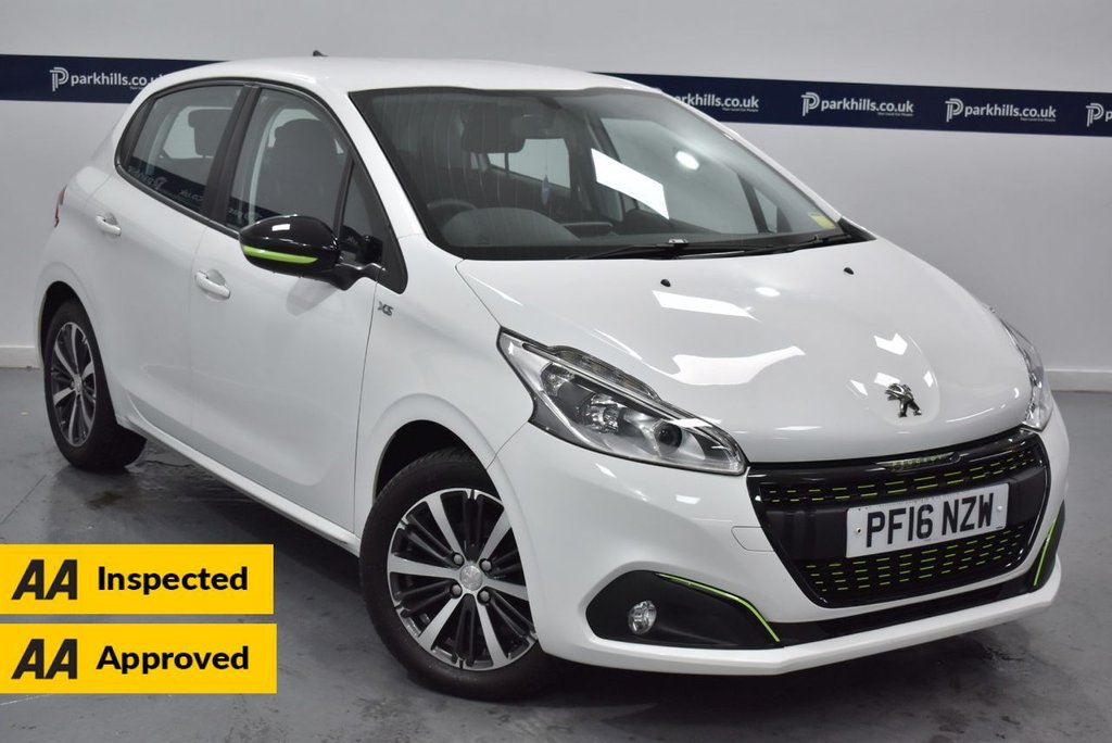 USED 2016 16 PEUGEOT 208 1.2 PURETECH XS LIME 5d 85 BHP (£20 TAX - BLUETOOTH - DAB)