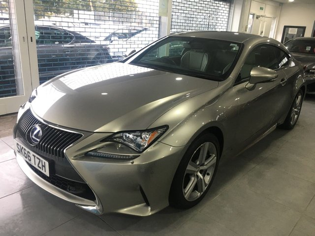 View our LEXUS RC