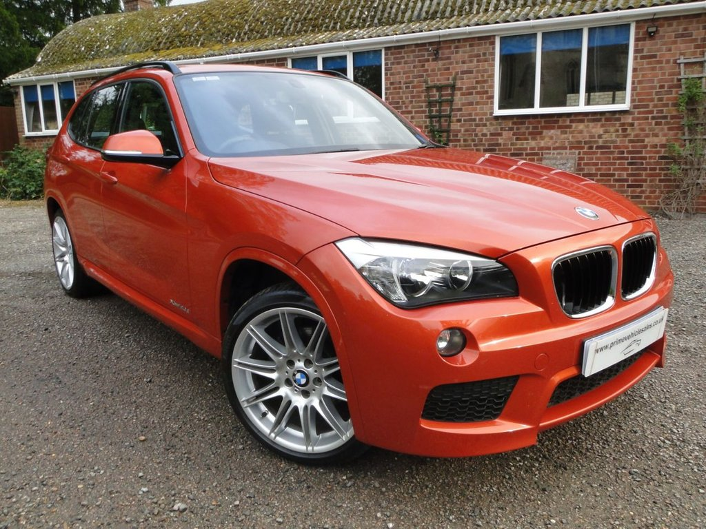 USED 2013 13 BMW X1 2.0 190 XDrive 20d M-Sport Leather