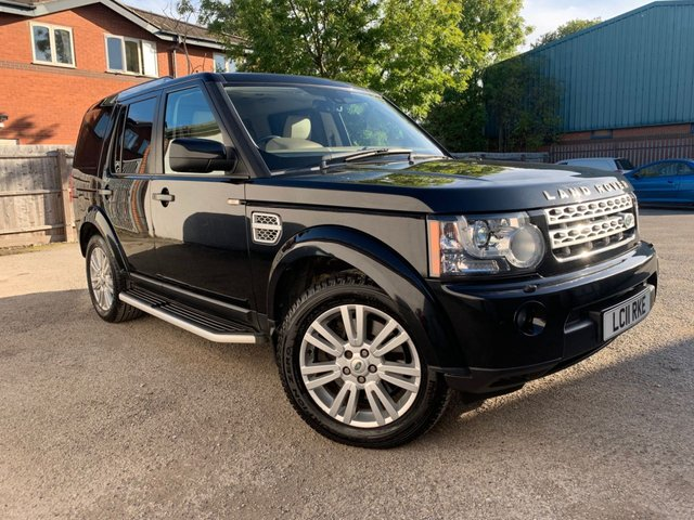 USED 2011 11 LAND ROVER DISCOVERY 3.0 4 SDV6 HSE 5d 245 BHP SAT NAV, REVERSE CAMERA, PARKING AID ALL ROUND, TWIN SUNROOF