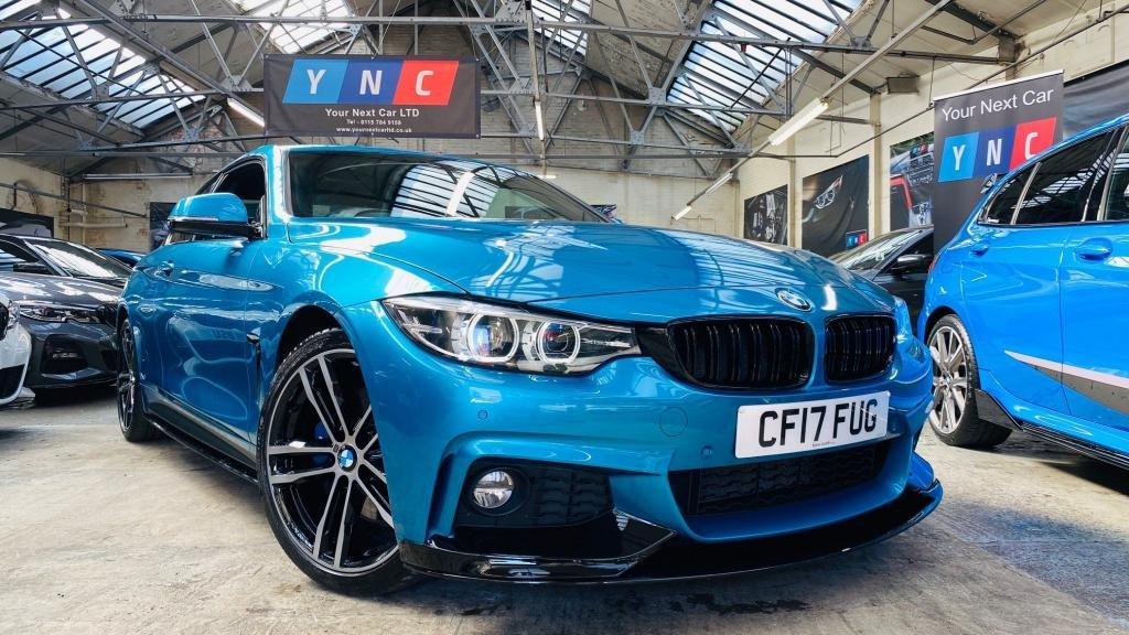 USED 2017 17 BMW 4 SERIES 2.0 420i M Sport Auto (s/s) 2dr PERFORMANCEKIT+19S+PLUSPACK+