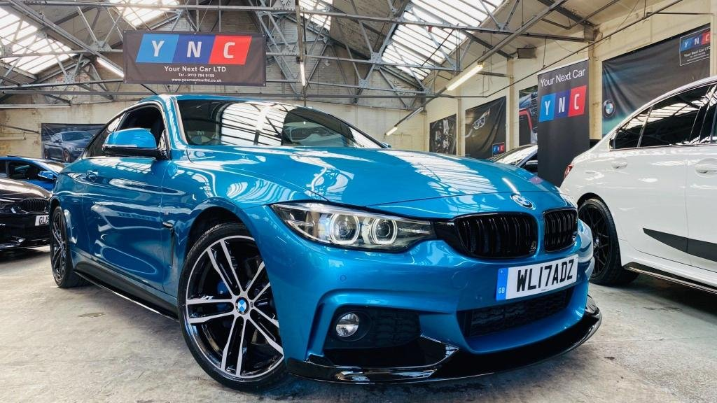 USED 2017 17 BMW 4 SERIES 2.0 420d M Sport Auto (s/s) 2dr PERFORMANCEKIT+REVCAM+PLUSPACK