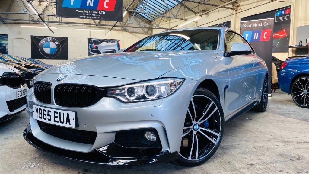 USED 2015 65 BMW 4 SERIES 3.0 430d M Sport xDrive 2dr YNC STYLING ++ REVERSE CAMERA