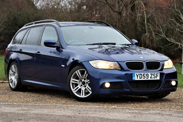 USED 2009 59 BMW 3 SERIES 2.0 320d M Sport Touring 5dr High M sport spec with leather