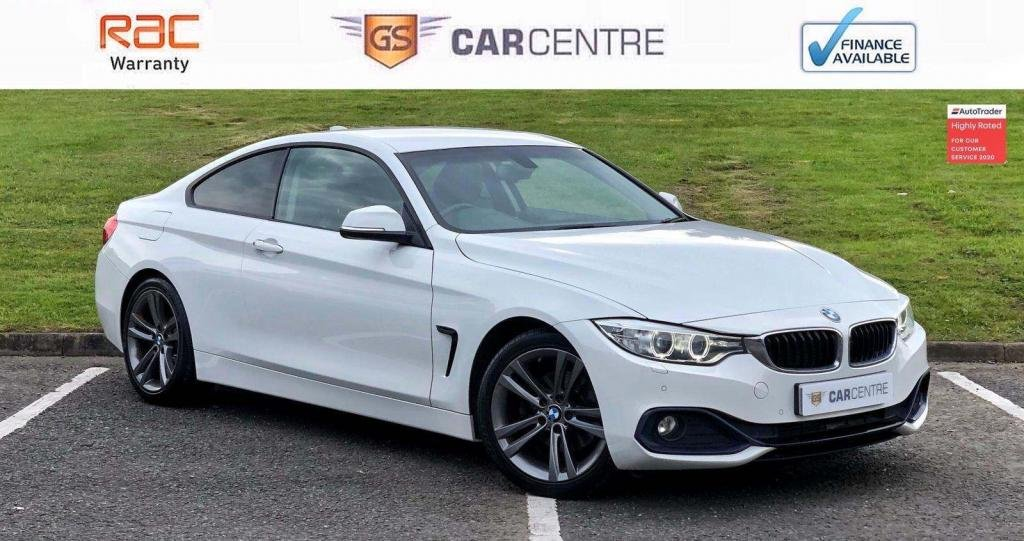 USED 2014 64 BMW 4 SERIES 2.0 420d Sport 2dr Sat Nav + Leather + Cruise