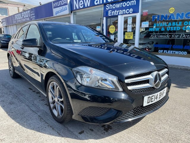 USED 2014 14 MERCEDES-BENZ A-CLASS 1.8 A200 CDI BLUEEFFICIENCY SPORT 5d 136 BHP FINANCE ARRANGED**PART EXCHANGE WELCOME**PART LEATHER**BLUETOOTH**USB**CD**AIR CON**PADDLE SHIFT**CRUISE