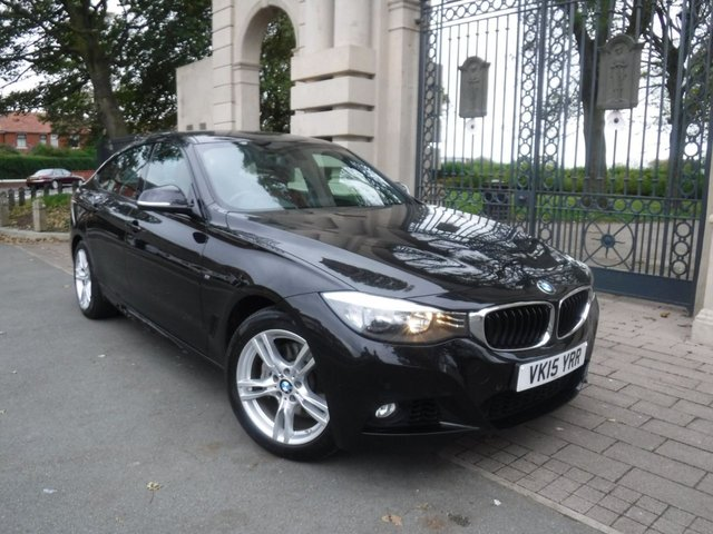 USED 2015 15 BMW 3 SERIES 3.0 335D XDRIVE M SPORT GRAN TURISMO 5d 309 BHP *** FINANCE & PART EXCHANGE WELCOME *** SAT/NAV FULL RED LEATHER INTERIOR  ELECTRIC OPEN / CLOSE TAIL GATE BLUETOOTH PHONE