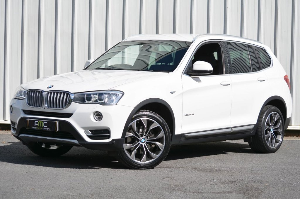 USED 2014 64 BMW X3 3.0 XDRIVE30D XLINE 5d 255 BHP **FULLY LOADED - ONLY 26,000 MILES**