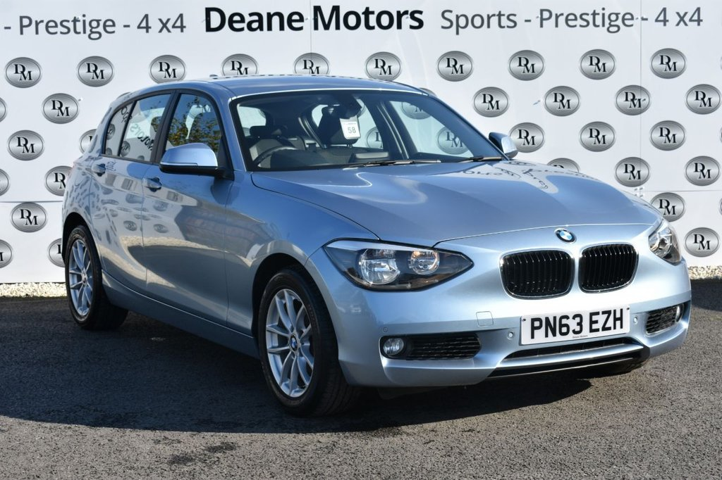 USED 2013 63 BMW 1 SERIES 2.0 120D SE 5d 181 BHP GREAT SPECIFICATION
