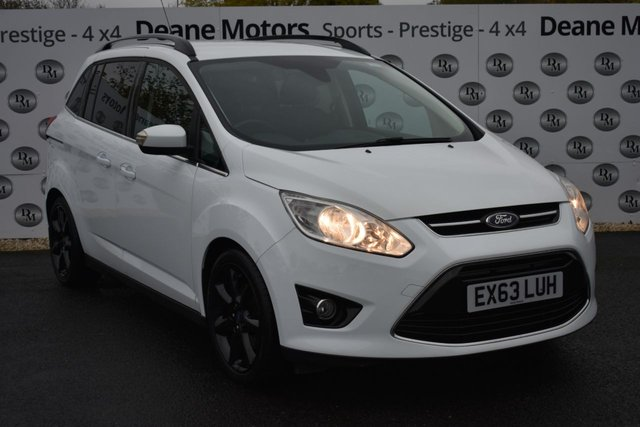2013 63 FORD GRAND C-MAX 1.6 TITANIUM 5d 148 BHP BLACK PACK