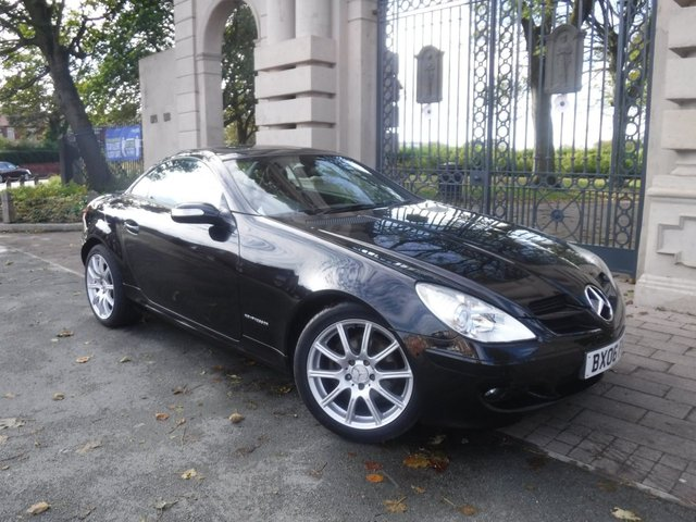 USED 2006 06 MERCEDES-BENZ SLK 1.8 SLK200 KOMPRESSOR 2d 161 BHP *** PART EXCHANGE & CARD PAYMENTS WELCOME *** ELECTRIC ROOF FULL RED LEATHER ELECTRIC SEATS AIR/CON CRUISE CONTROL