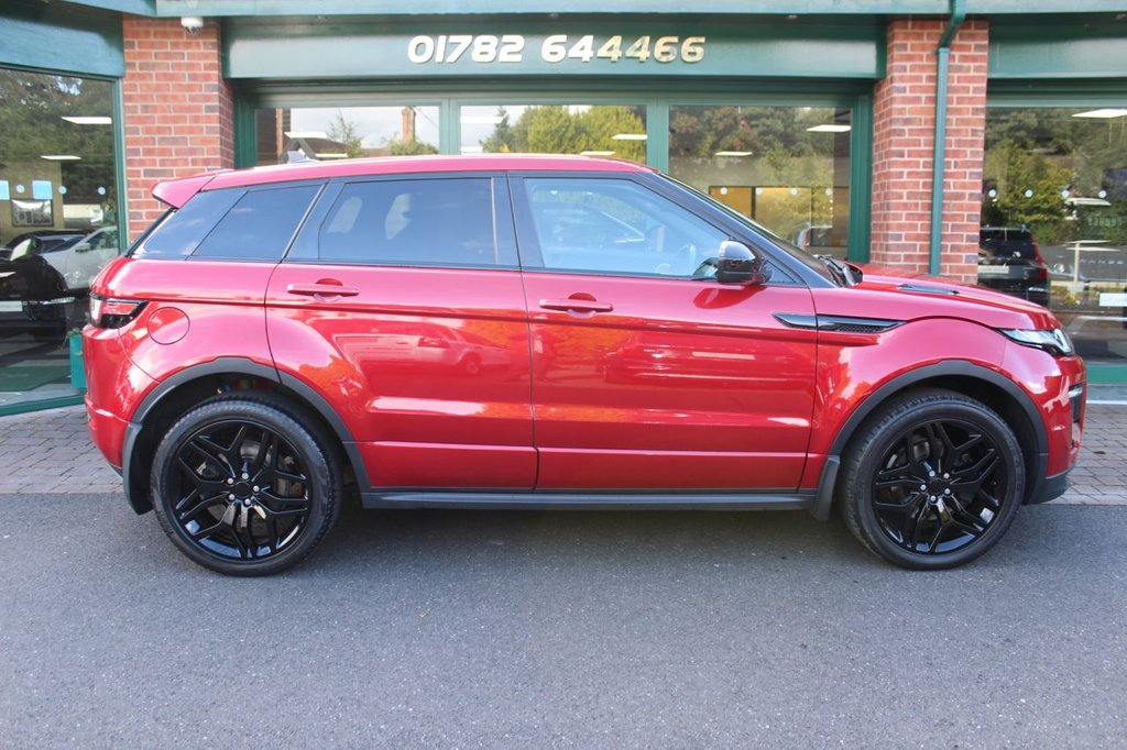 USED 2016 16 LAND ROVER RANGE ROVER EVOQUE 2.0 TD4 HSE DYNAMIC 5d 177 BHP