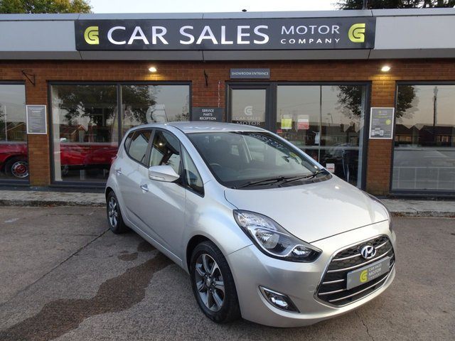 USED 2016 16 HYUNDAI IX20 1.4 SE BLUE DRIVE 5d 89 BHP FORMER LADY KEEPER, JUST SERVICED AT 21K, MO TILL JUNE 2021, BLUETOOTH, REAR PARKING SENSORS, HPI CLEAR