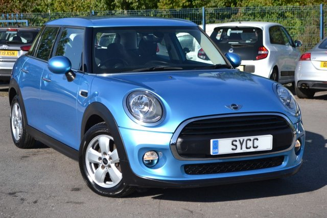 USED 2017 17 MINI HATCH ONE 1.5 ONE D 5d 94 BHP ~ ELECTRIC BLUE ~ ALLOYS ~ AIR CON ELECTRIC BLUE ~ ALLOYS ~ AIR CON ~ 2 KEYS ~ 6M WARRANTY