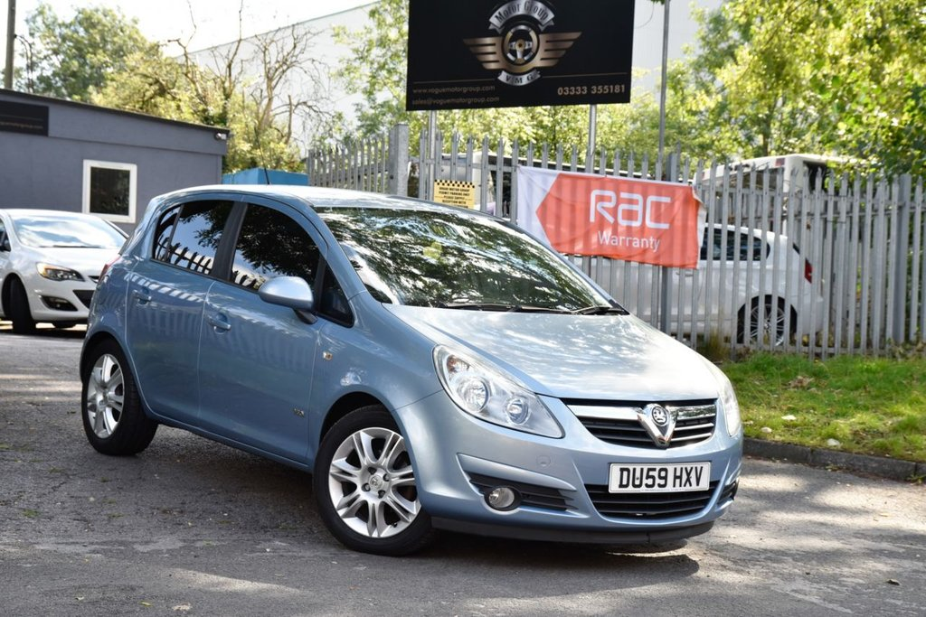 USED 2009 59 VAUXHALL CORSA 1.4 DESIGN 16V TWINPORT 5d 90 BHP