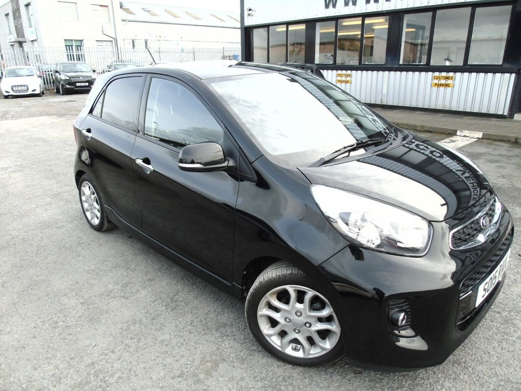USED 2015 15 KIA PICANTO 1.2 3 ISG 5d 84 BHP £131 a month, T&Cs apply.