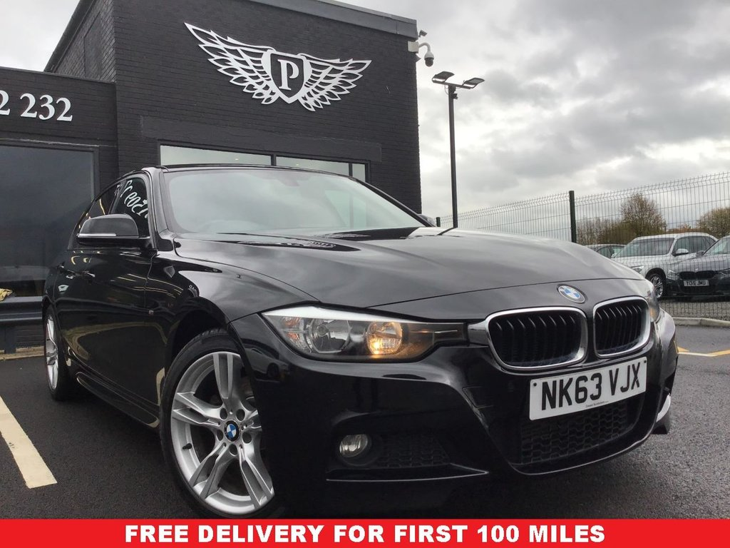 USED 2013 63 BMW 3 SERIES 2.0 320D XDRIVE M SPORT 4d 181 BHP FULL BMW SERVICE HISTORY