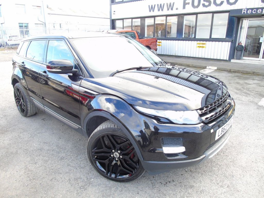 USED 2013 62 LAND ROVER RANGE ROVER EVOQUE 2.2 SD4 PURE TECH 5d 190 BHP £283 a month, T&Cs apply.