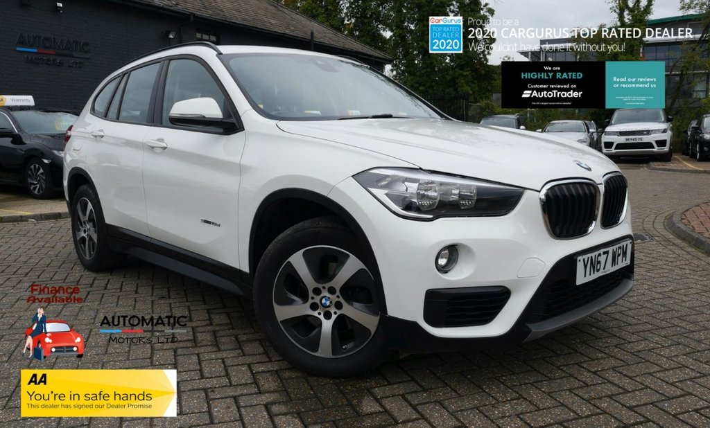 USED 2017 67 BMW X1 2.0 SDRIVE18D SE 5d 148 BHP 2017 BMW X1  2 KEYAS, 1 OWNER FROM NWE, CLIMATE CONTROL, CRUISE CONTROL, SAT NAV, AIR CON, USB/AUX, PARKING SENSORS
