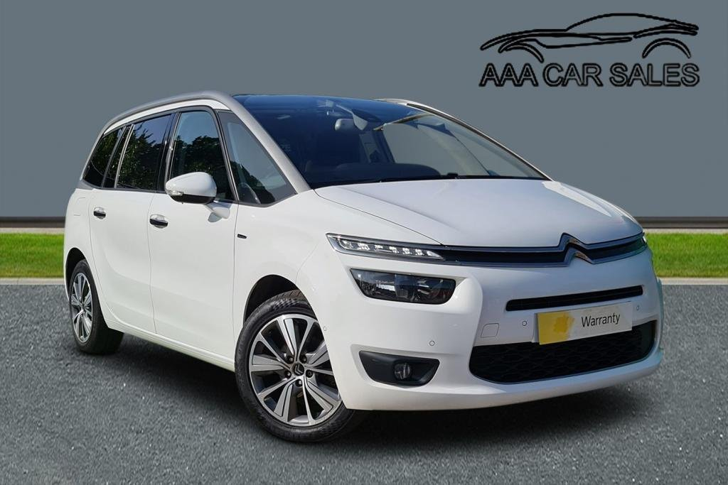 USED 2015 64 CITROEN C4 GRAND PICASSO GRAND E-HDI EXCLUSIVE PLUS £20 ROAD TAX,HUGE SPEC