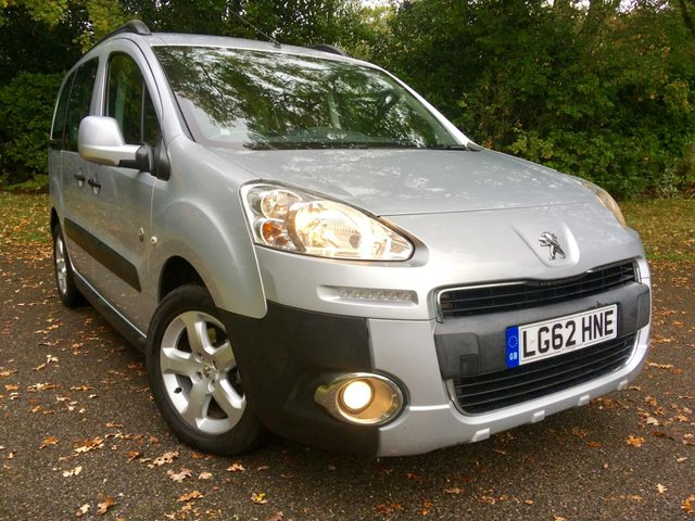 2012 62 PEUGEOT PARTNER 1.6 HDI TEPEE OUTDOOR 5d 112 BHP//STANDARD CAR NOT ADAPTED/ONLY 45,000 MILES/ GREAT SERVICE HISTORY